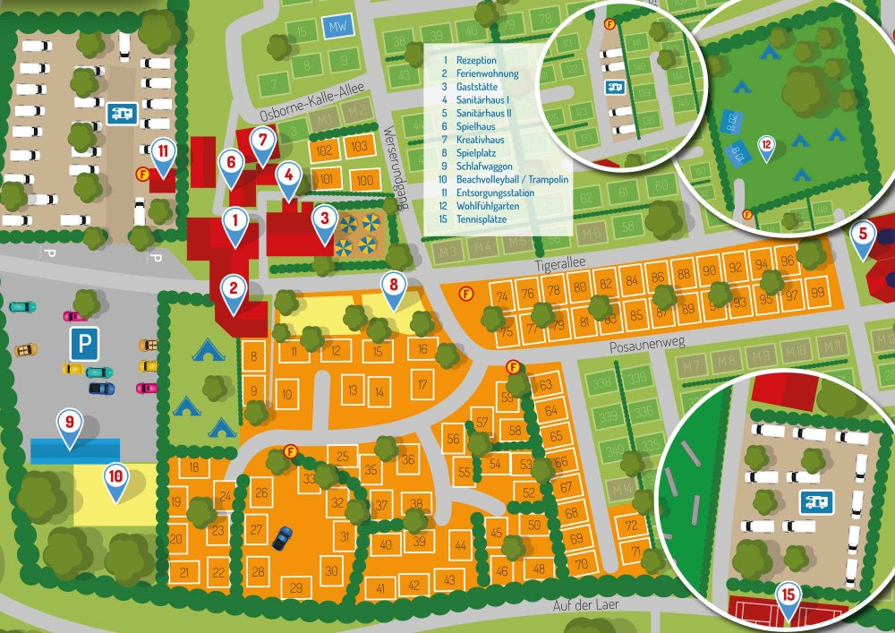 Wohnmobilstellplatz Münster